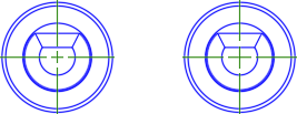 CENTERCROSSSIZE set to .1 and .2