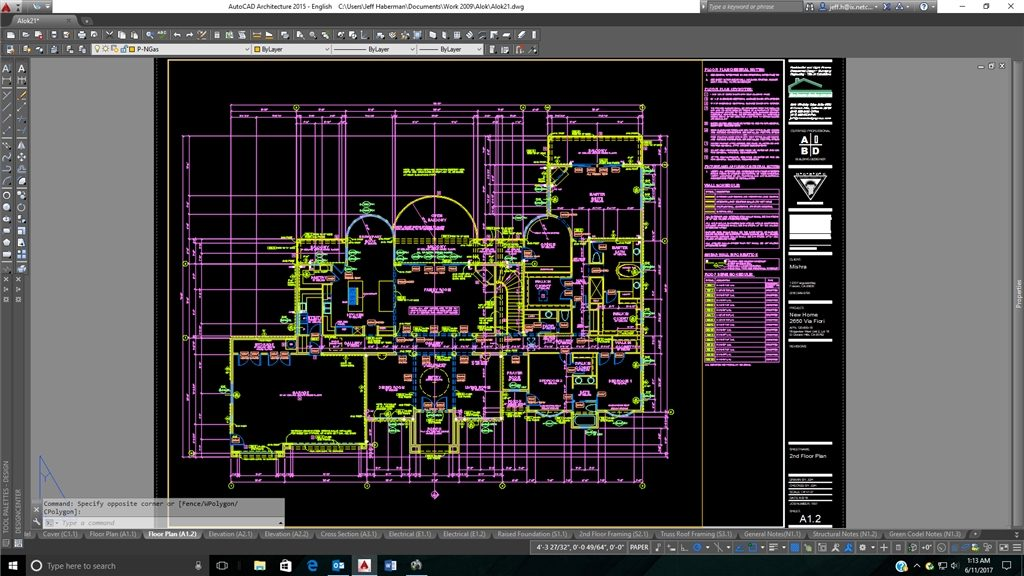 Custom Home Design And AutoCAD: Drafts