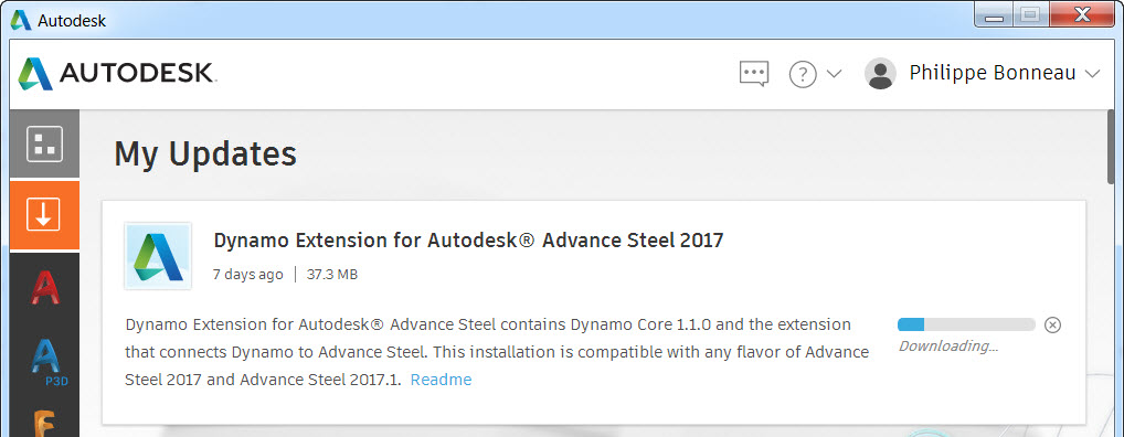 Dynamo extension for Advance Steel