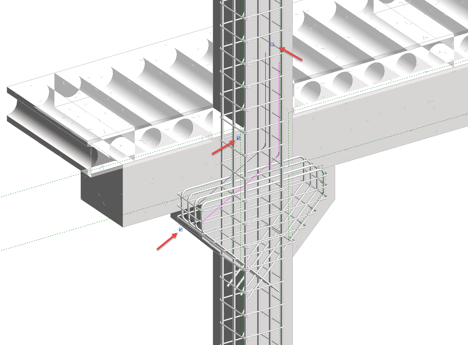 Precast Column with Corbels in Revit 03