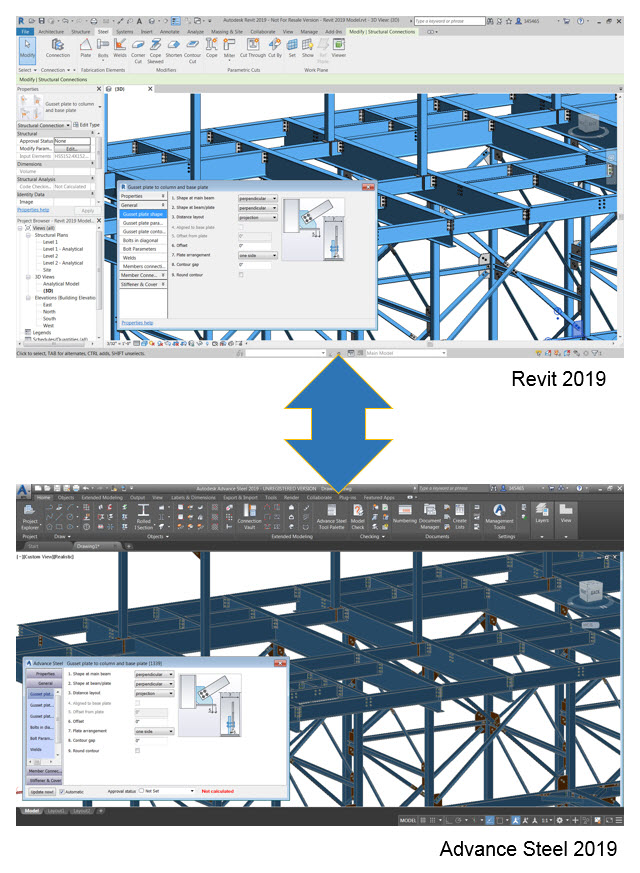 Interoperability-revit-advance-steel-2019