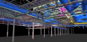 building interior point cloud