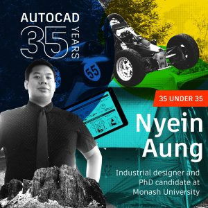 AutoCAD 35 Under 35 Young Designers: Nyein Aung