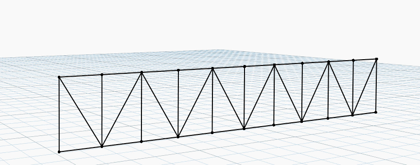 Example of a Parametric Truss using Structural Analysis for