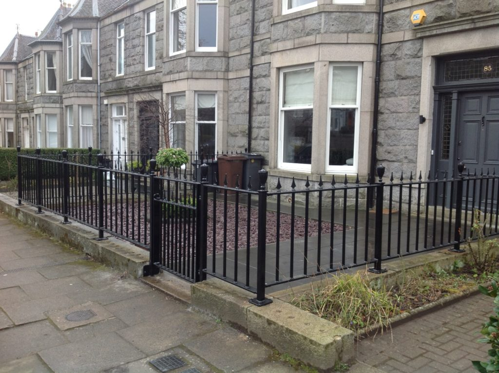 Advance Steel railings completed
